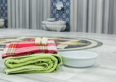 traditional turkish bath material