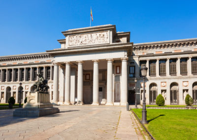 Prado National art museum in Madrid, Spain