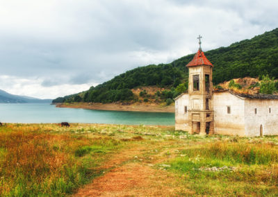 St. Nicholas Church, Mavrovo Lake, Macedonia