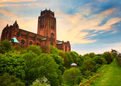 Liverpool Cathedral in Liverpool, UK