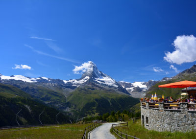 Matterhorn in summer - Sunnegga, Zermatt, Switzerland