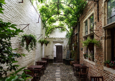 Sixteenth Century Alley in Antwerp
