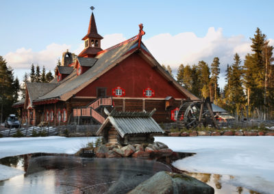 Tomteland – house of Santa Claus. Sweden