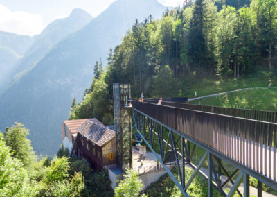 World Heritage Viewing Platform Skywalk in Hallstatt