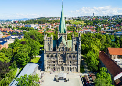Nidaros Cathedral in Trondheim